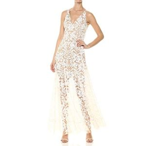 Dress the Population Simone Sequin Gown - XS